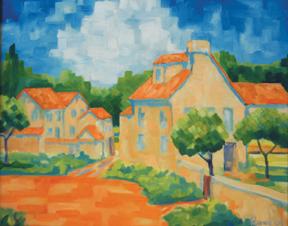 "Murray Wagnon\'s \""French Farmhouse\"""