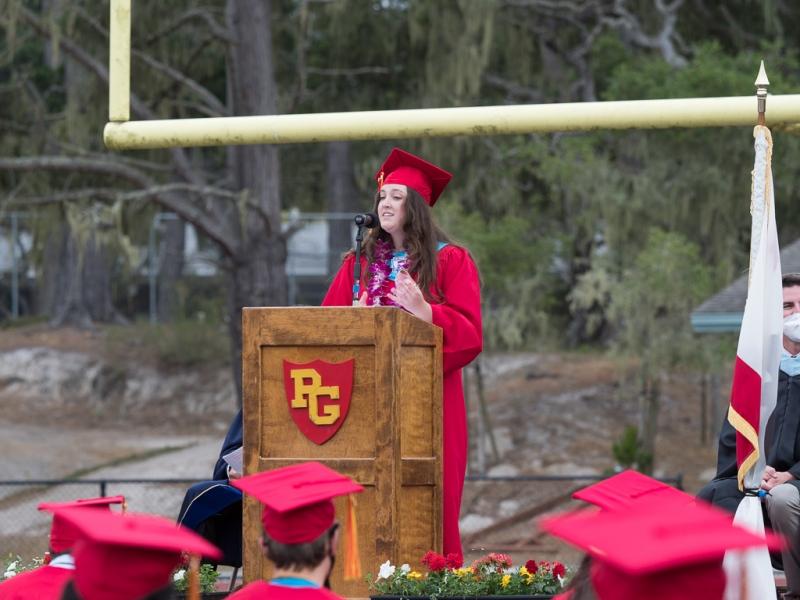 Molly Momberger, Senior Class President