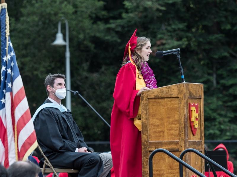 Caroline Coen, Valedictorian