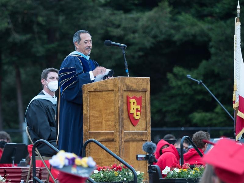 Dr. Ralph Gomez Porras, Superintendent