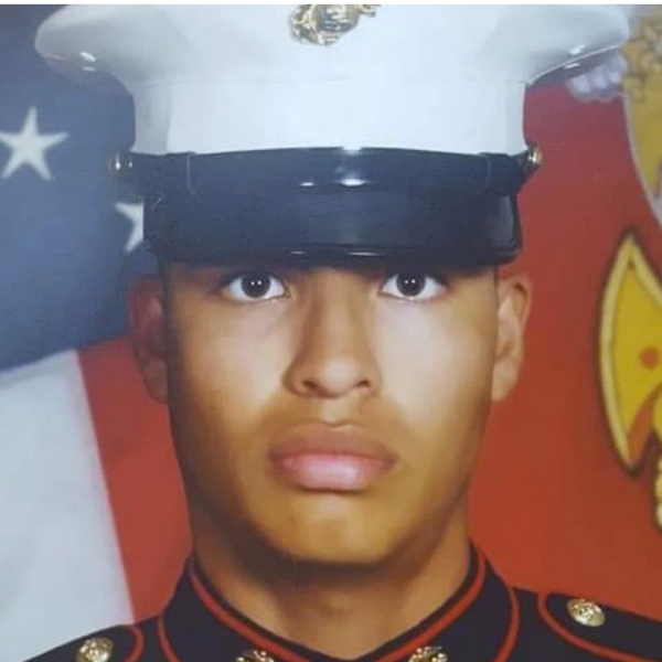 Marine Corps Cpl. Humberto A. Sanchez, 22, of Logansport, Indiana.