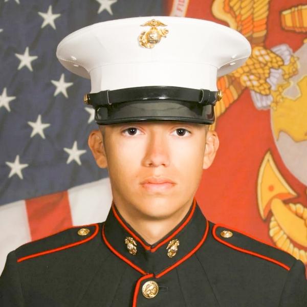 Marine Corps Cpl. Hunter Lopez, 22, of Indio, California.