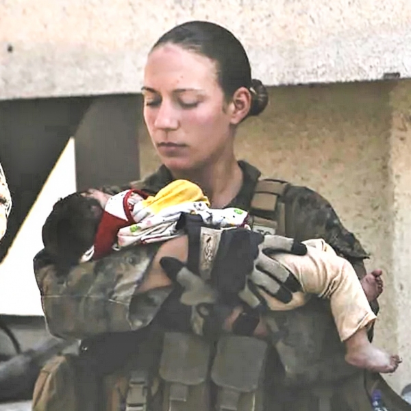 Marine Corps Sgt. Nicole L. Gee, 23, of Sacramento, California
