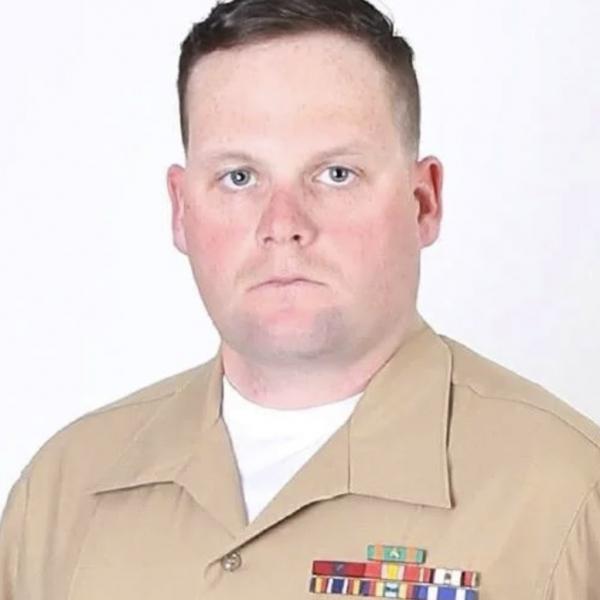 Marine Corps Staff Sgt. Darin T. Hoover, 31, of Salt Lake City, Utah.