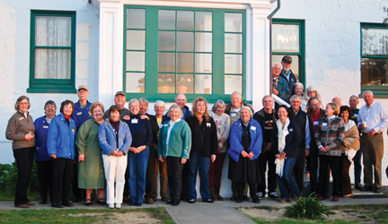 Renovators, docents celebrate