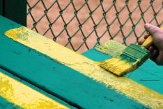 muni ballpark - yellow stripes - Skyler Lewis