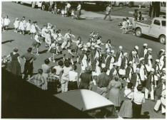 1958 Rbt H Down Marching Band Btrfly Parade