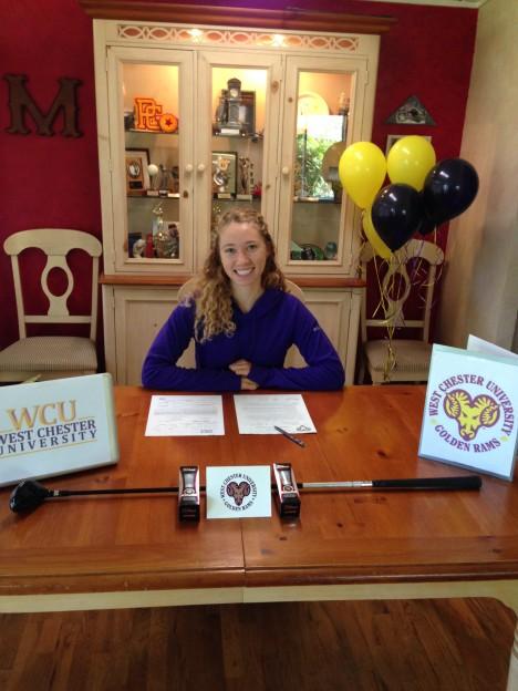 peep Lauren Signing WCU 11.16.2013