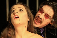 Taylor Safina (Bride), Matthew Pavellas (Dracula).