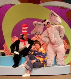 Seussical the Musical Horton (elephant), McCall Brinskele '17 • Cat in the Hat, Sung Ha Hong '15 • JoJo, Marie Ramirez '16