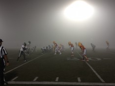 Did fog give PG the advantage?