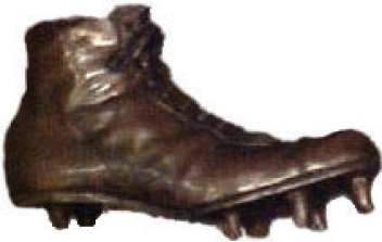 The one and only Shoe Trophy