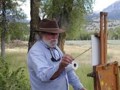 Ben Brode painting
