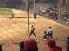 Danielle Pasquariello went 3 for 3, scored 2 runs, had 3 RBIs, including an in the park home run for PG in their loss to Monterey