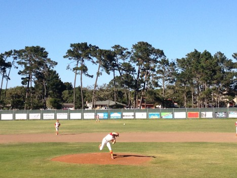 Nic Boatman pitched 7 great innings, while only giving up 5 hits and 1 run