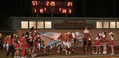 Pacific Grove came out of halftime pumped up, with a 57-21 lead over Fremont. (Photo by: Leticia Ferreira)
