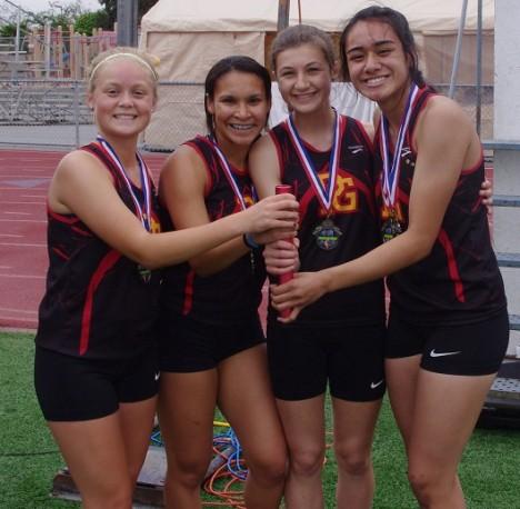 Anna Stefanou, Taylor Rainey, Taylor Biondi and Kulaea Tulua.