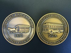 Trolley 125 Years Commemorative Coin