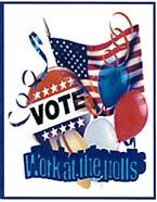 poll worker art